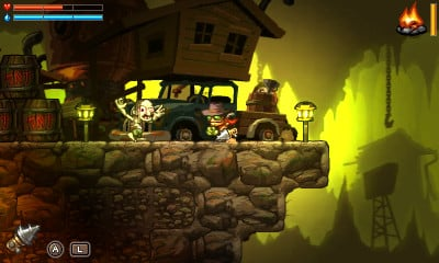 Review: SteamWorld Dig (3DS eShop)