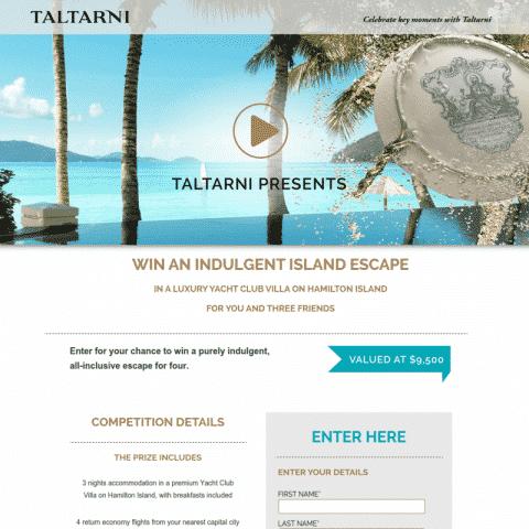 Taltarni Indulgent Island Escape