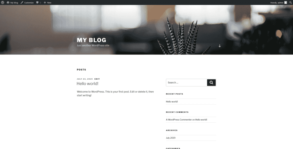 WordPress Themes: Getting Started
